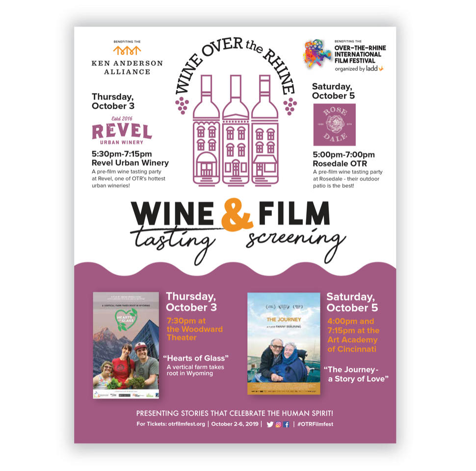 Wine Over-the-Rhine Saturday 7pm Film
